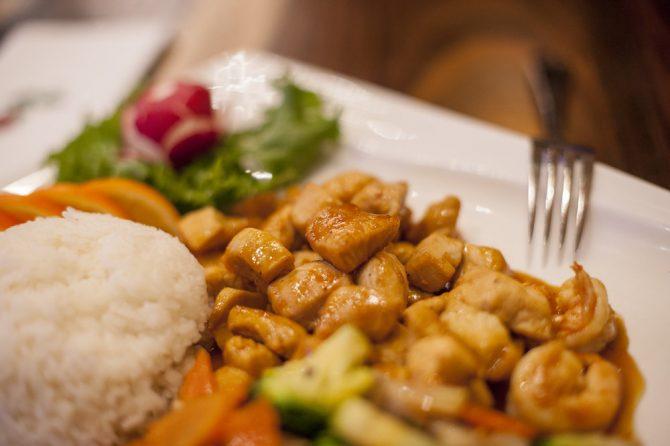 Hibachi Lunch Platter Pick 1