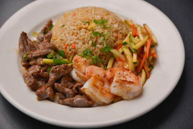 Hibachi Lunch Platter Pick 2