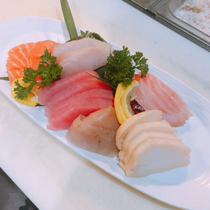 Sashimi Lunch
