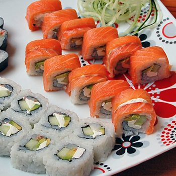Sushi Pick Three Rolls