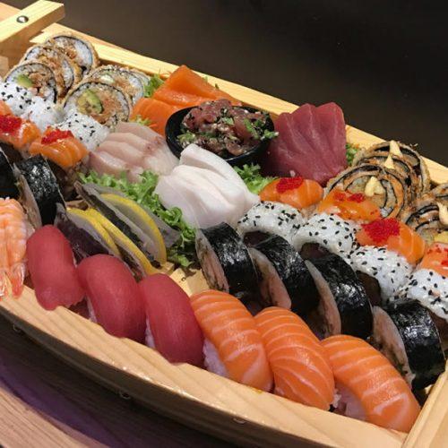 Sushi Sashimi Boat For 2