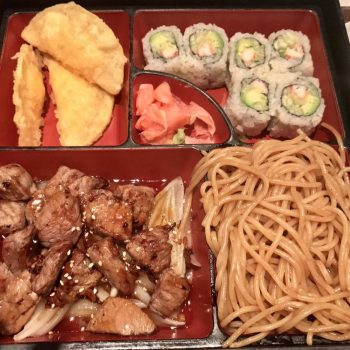 Dinner Hibachi Box