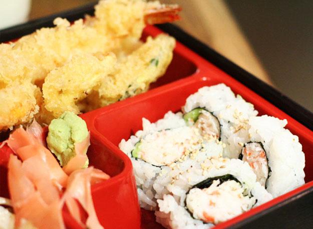 Dinner Tempura Bento Box