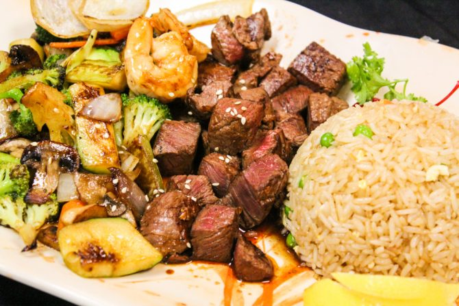 Filet Mignon Hibachi