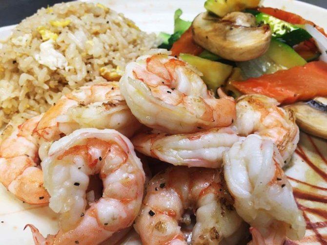 Hibachi Jumbo Shrimp