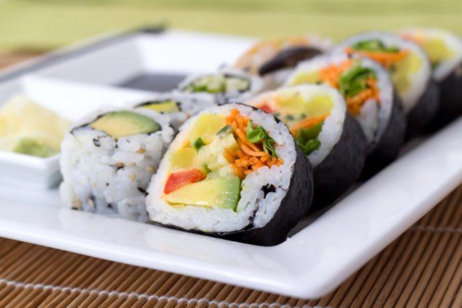 Mixed Veggie Roll