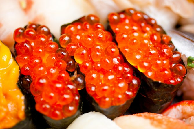 Salmon Roe lkura