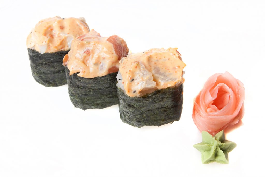 Spicy Octopus Roll