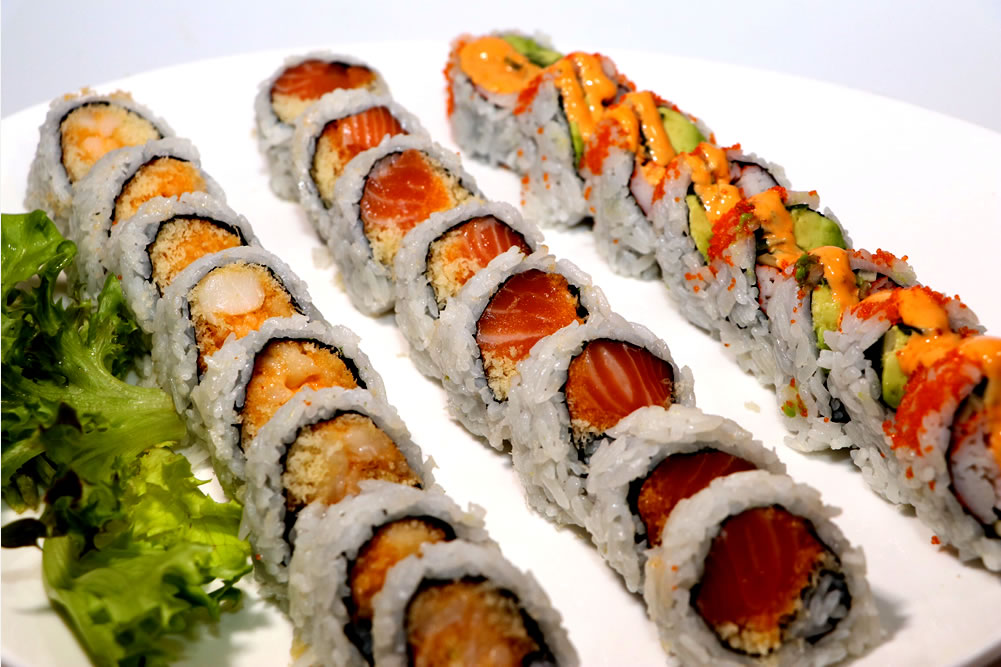 Spicy Sushi Combo