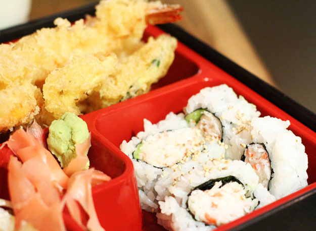 Tempura Lunch Bento Box