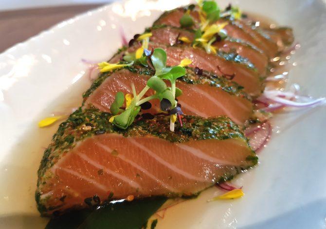 Cajun Salmon Tataki