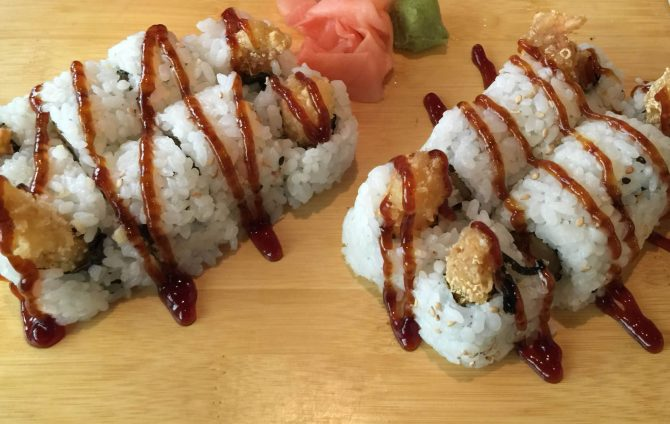 Tempura Chicken Roll